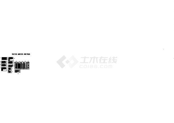 [安徽]高层住宅小区给排水消防施工图(400张 冷凝水系统)-图二