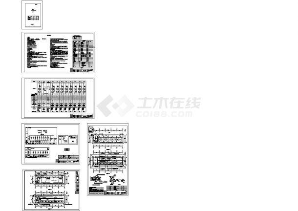 某工程高压配电室电气设计图纸-图一