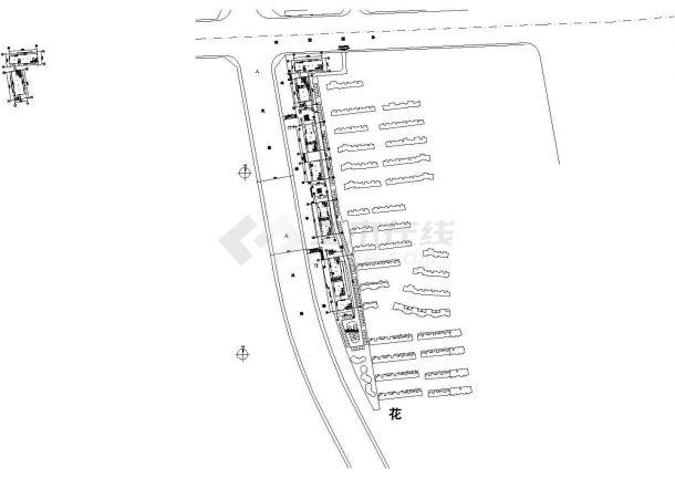 [苏州市]某商业街工程建筑结构水电施工图-图一