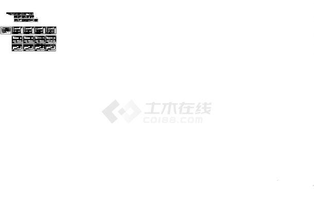 [江苏]某地小区高层住宅楼电气施工图全套cad图纸(含单体B平立面图)-图二