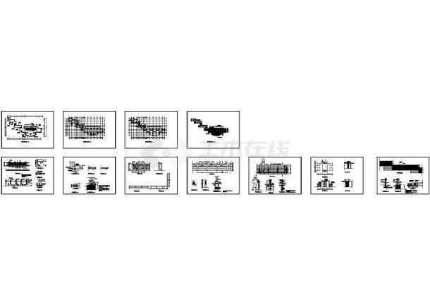 深圳兰溪谷郊野公园景观设计cad图,共七十七张-图一