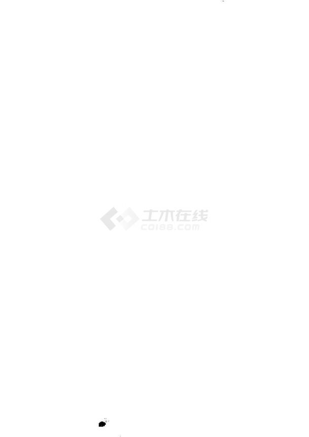 [湖南]小(二)型水库除险加固工程施工图(大坝 输水低涵 溢洪道)-图一