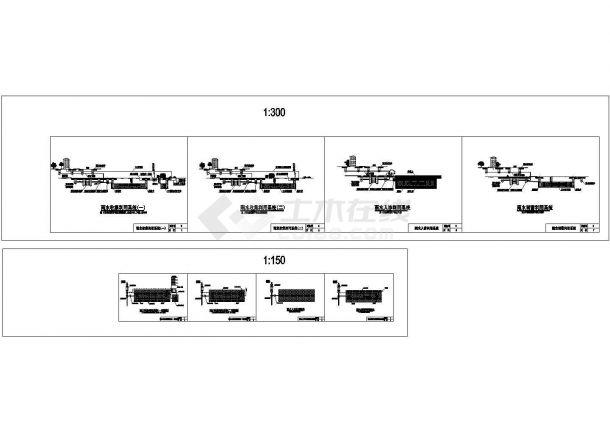 海绵城市雨水收集利用系统标准大样图-图二