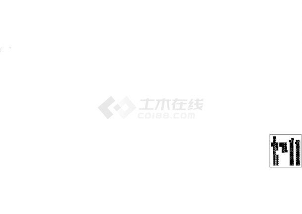 安徽中央广场九层高档住宅电气全套施工cad图纸,含说明-图一