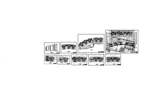某高层住宅直饮水管道设计图CAD-图一