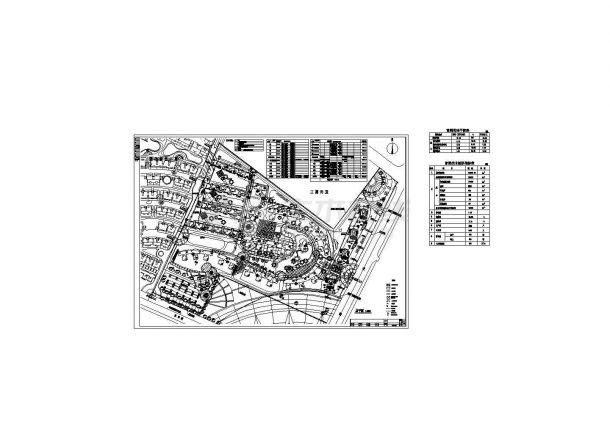 某高层住宅直饮水管道设计图CAD-图二