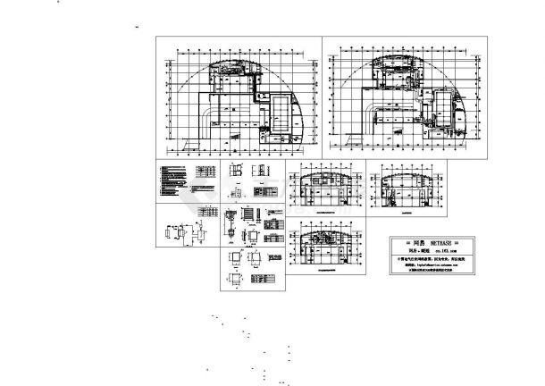 地下室中央空调设计图-图一