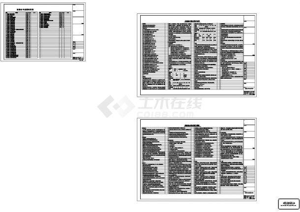 [江苏]43万平综合项目给排水图纸(住宅,办公,商业,酒店,娱乐,餐饮)-图一