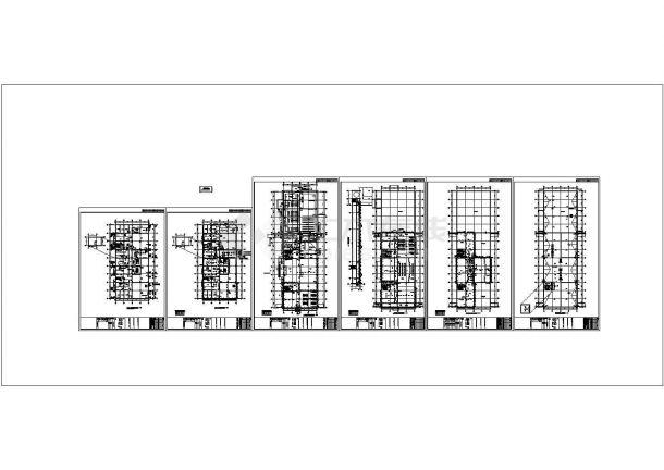 [北京]数据中心综合楼给排水施工图(热水系统)-图一