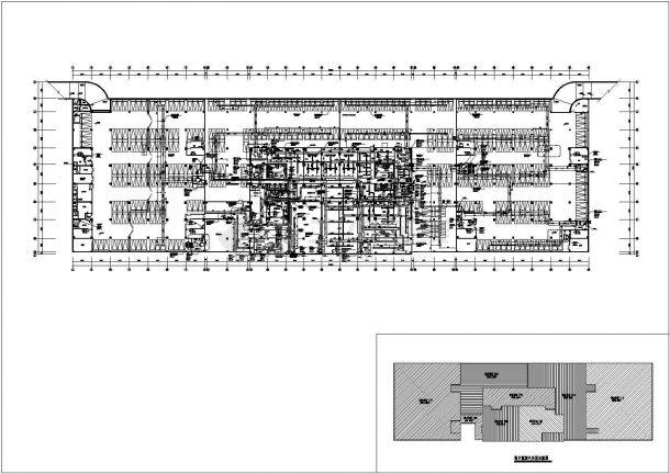 高层办公楼暖通空调设计施工CAD图-图二