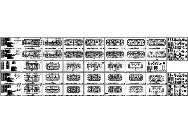 某5层综合楼给排水施工设计图-图一