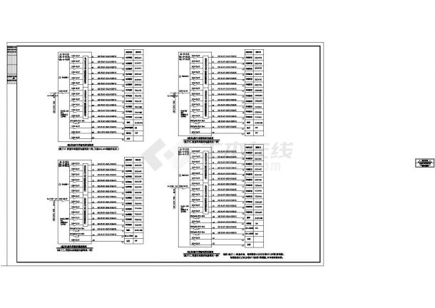 [施工图][广州]432米超高层中心强电系统图纸(103层地标)-图二