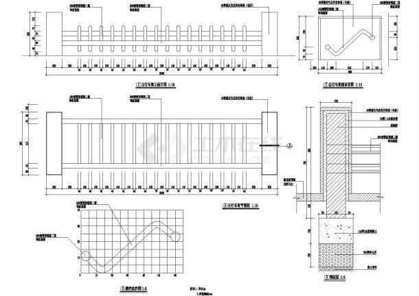 景观细部施工图—停车场地施工图设计-图二