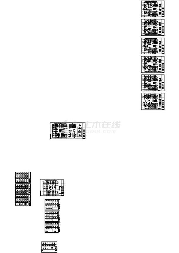 [四川]5层钢混框架结构大学教学楼建筑结构施工图(CAD图纸)-图二