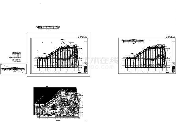 南京大型主题乐园暖通设计施工图(制冷机组)-图一