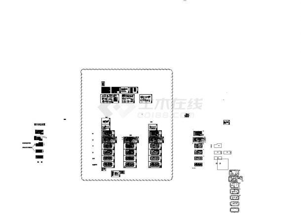 北京立水桥酒店暖通设计施工图(单式泵,变流量,双管制)-图一