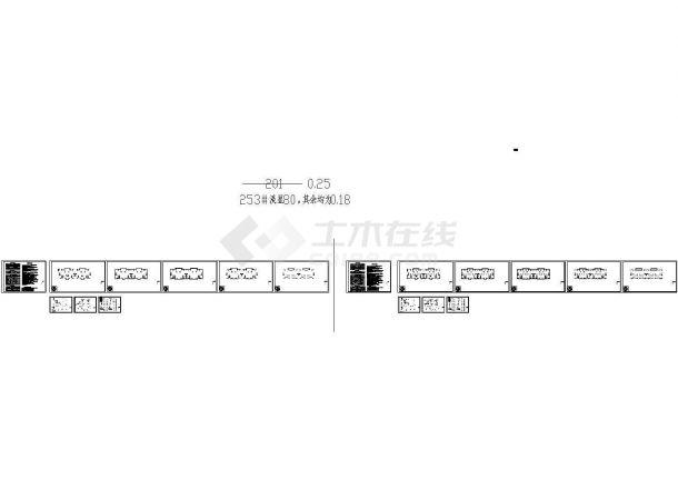 四川省某地小区建筑给排水设计施工图纸-图一