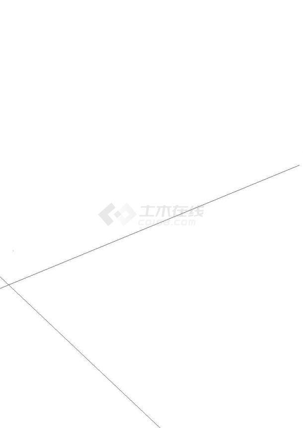 [江西]工业污水处理全套设计cad图纸(CASS+深度处理)-图一