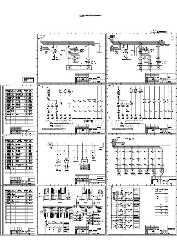制冷系统电气控制原理图-图一