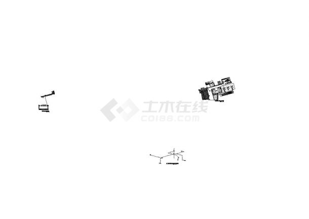 [上海]某花园广场综合楼给排水施工图(含设计及施工说明)-图一
