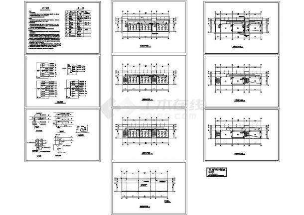 三层中学教学楼电气设计施工图-图一