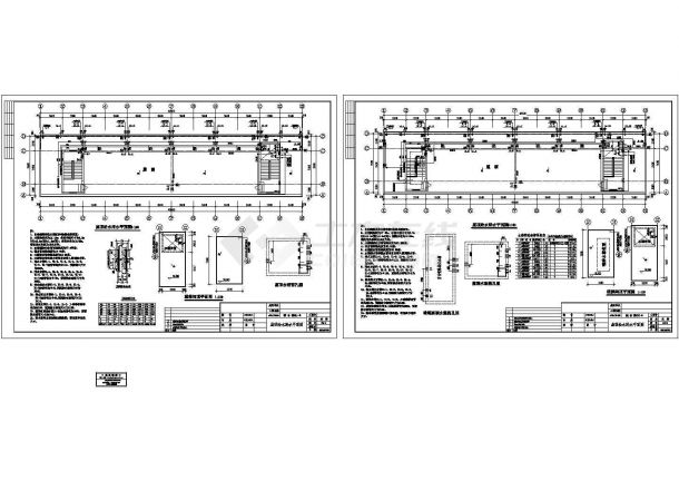 江苏某综合楼给排水设计施工图-图一