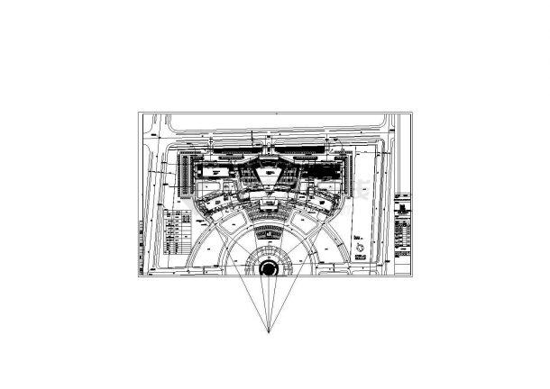 江苏某十八层科技馆给排水系统工程施工CAD图,含设计说明-图一