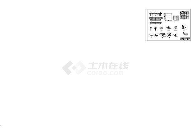 门式钢架结构厂房建筑工程量计算实例(含图纸)-图二