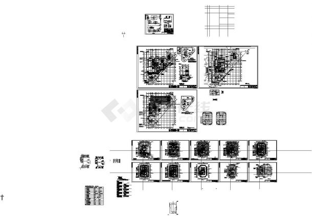 某26层办公楼暖通设计施工图纸-图一