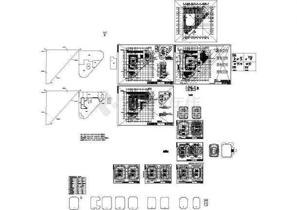 某26层办公楼暖通设计施工图纸-图二