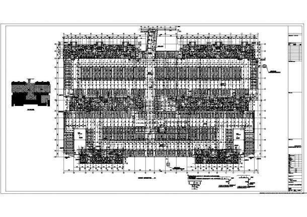 山东住宅建筑给排水图纸(太阳能热水 含地下室)-图一