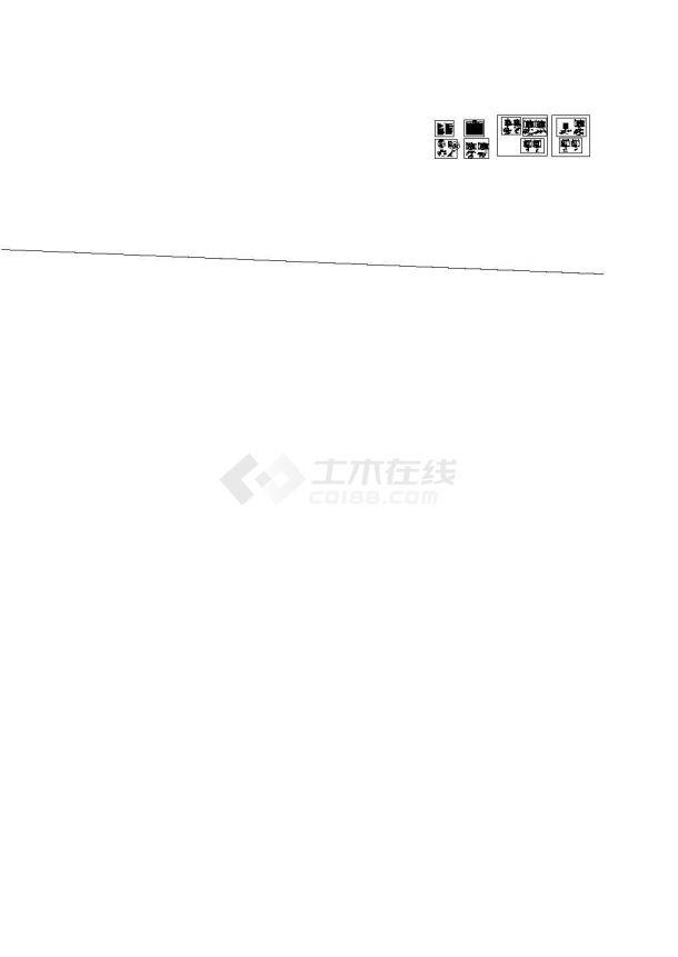 苏州十层办公大楼卫生间给排水施工图-图一