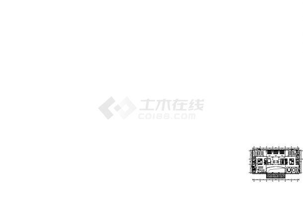 苏州十层办公大楼卫生间给排水施工图-图二