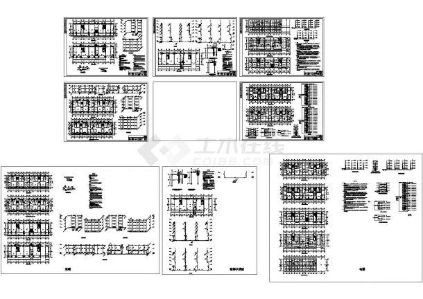 某住宅楼电气CAD设计平面布置图-图一