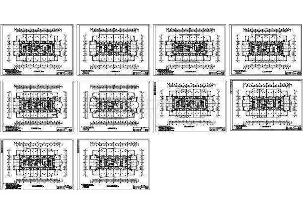 广州某五星级酒店暖通空调设计全套cad施工图-图一