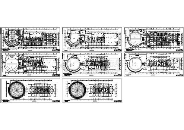 广州某五星级酒店暖通空调设计全套cad施工图-图二