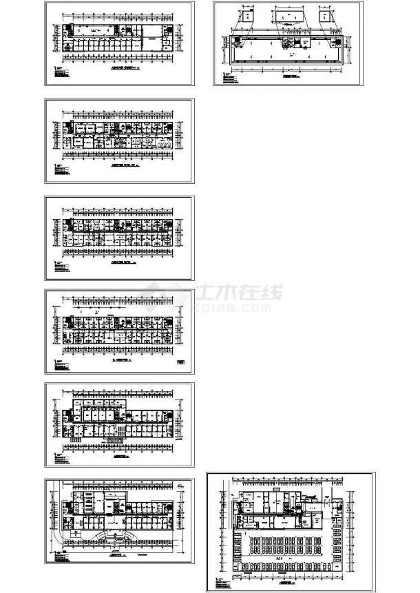 中医院综合病房楼电气全套施工图-图二