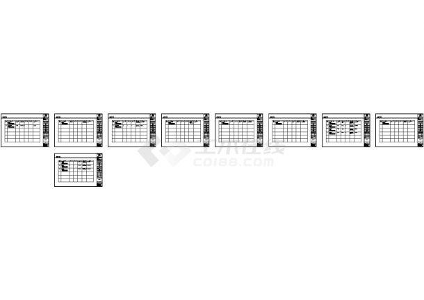 二居室装修设计全套施工图(附效果图)-图二