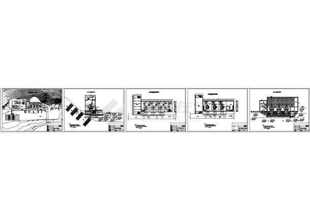 [四川]水电站厂房扩容改造工程初步设计施工图-图一