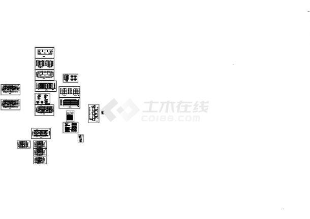 六层住宅楼建筑设计施工图-图一