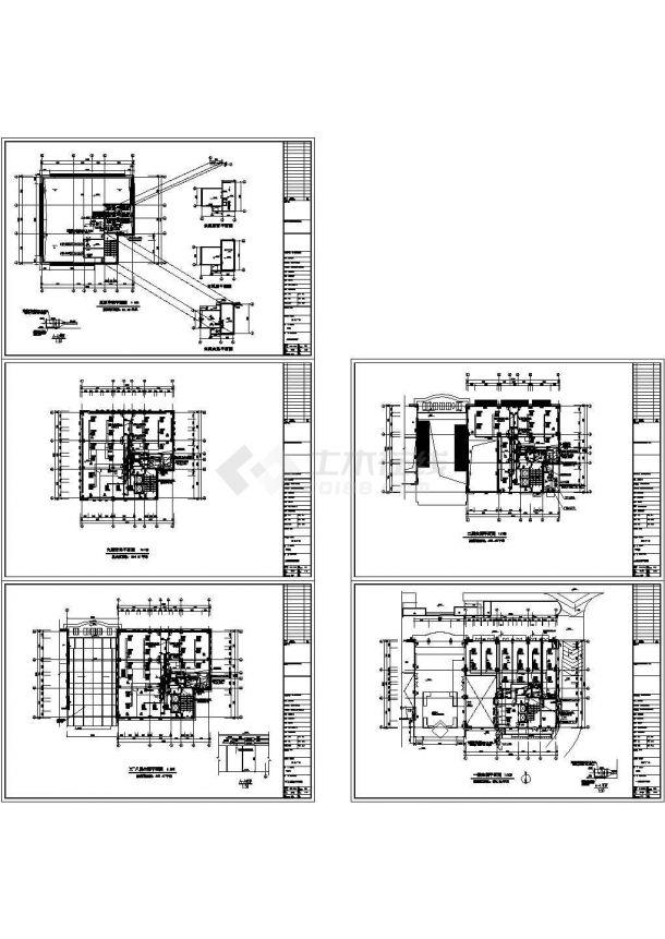 某国际广场办公楼暖通空调设计cad施工图-图一