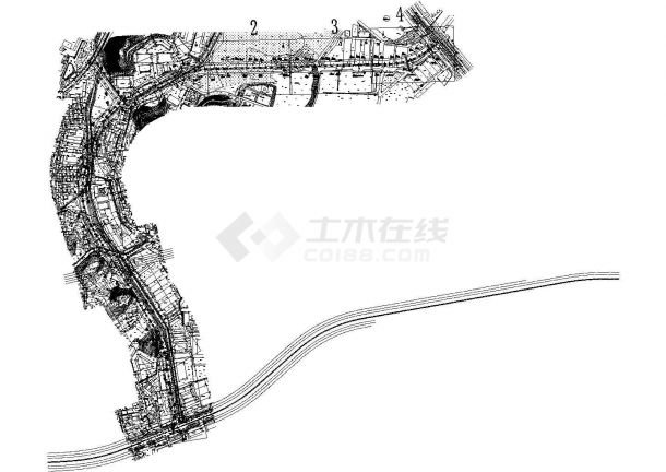 广东省深圳市某道路工程岩土图纸-图二