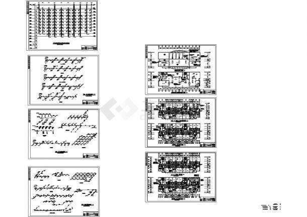 临汾市某酒店暖通空调设计cad施工图-图一