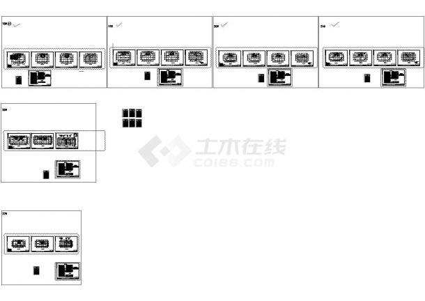 青岛大型住宅区暖通设计施工CAD图-图二
