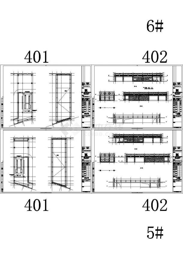 江苏南通服务中心建筑电气设计图纸(建筑、结构、机电设备)-图二