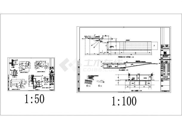 某十层质监局施工图全套图纸(强弱电,建筑、结构、暖通、给排水)-图一