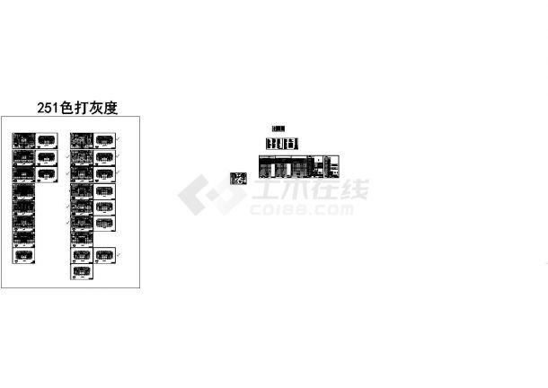 湖南某8.6万平米27层大厦给排水设计施工图,共27张图纸-图一