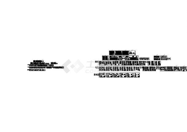 [上海]某产业区四层科研楼项目强电电气系统图(建筑物防雷接地 )-图二