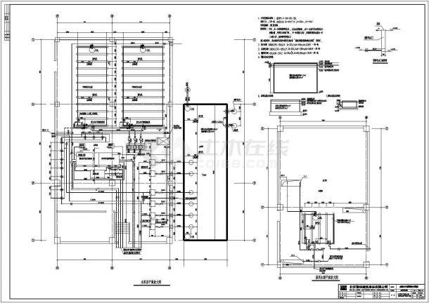 成都市某十层中西医结合医院建筑设计cad全套施工图(含设计说明,含效果图,含主楼、行政楼、裙房、道路、绿化等设计)-图二