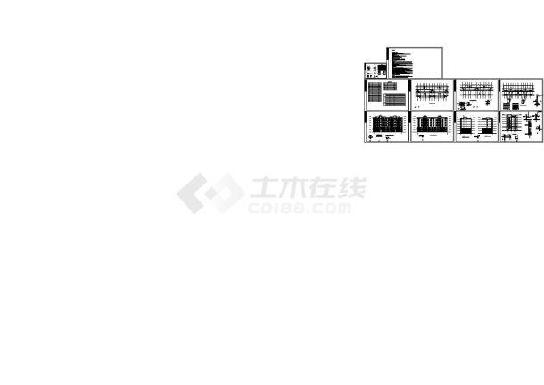 某六层砖混结构板式住宅楼(2917.72㎡)设计cad全套建筑扩初图(含设计说明)-图二